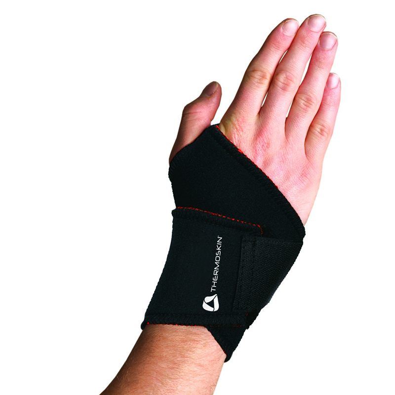 Thermoskin Univ Wrist Wrap, Black, $19.95  main product image