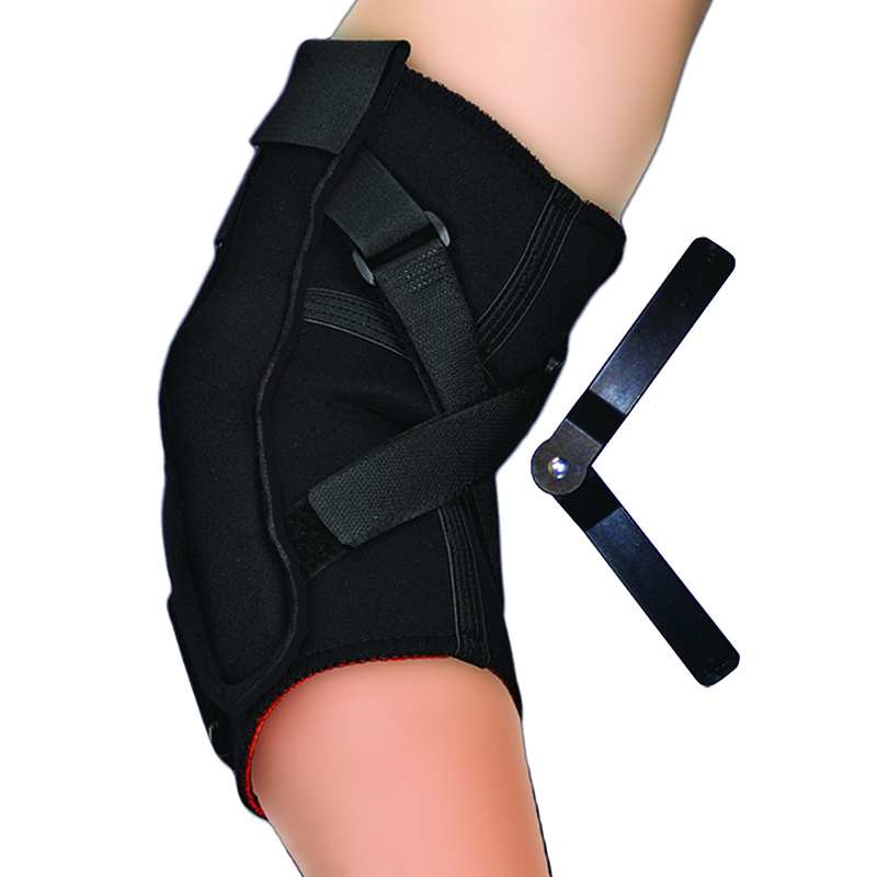 Thermoskin Hinged Elbow, Black, 8*137, $69.95  main product image