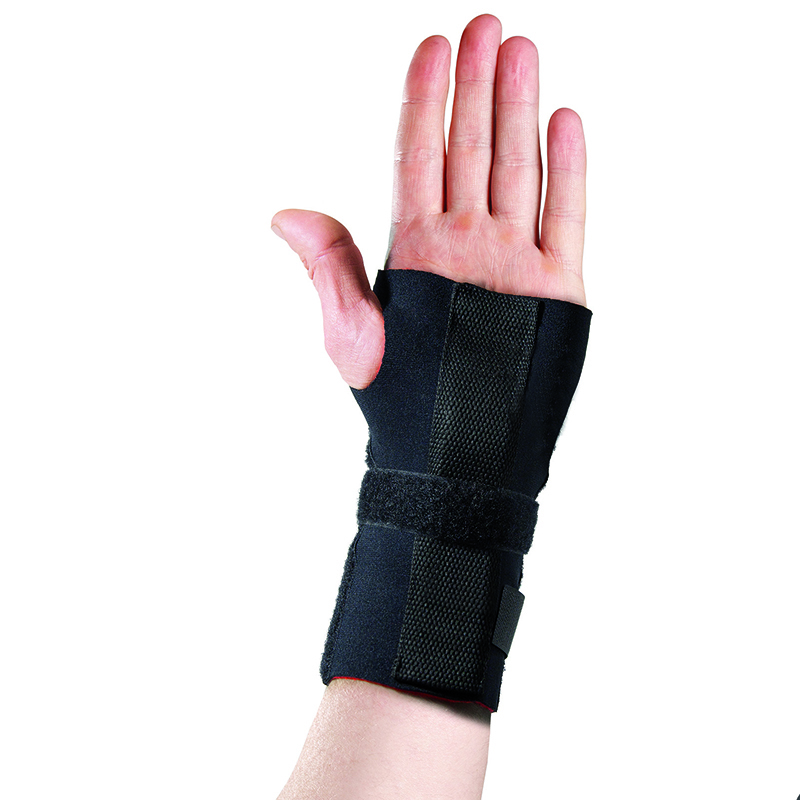 Thermoskin Adjustable Wrist Hand Brace, Left, Black, $24.95  main product image