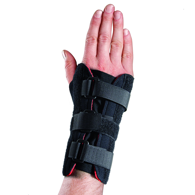 Thermoskin Adjustable Wrist Brace, Right, Black, $24.95 alternative product image 1