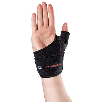 Thermoskin Sports Thumb Adjustable, Right, Black, $29.95  main product image