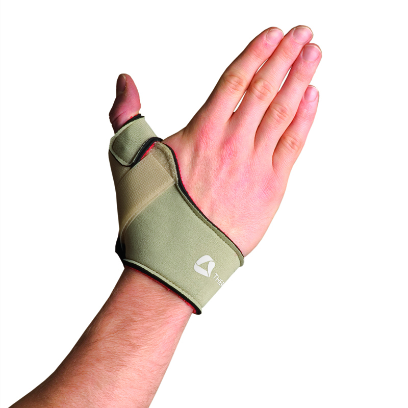 Thermoskin Flexible Thumb Splint, Right, Beige, $29.95  main product image