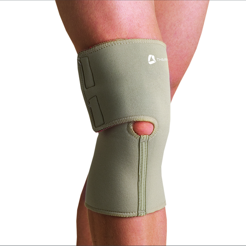 Thermoskin Arthritic Knee Wrap, Beige. $39.95  main product image