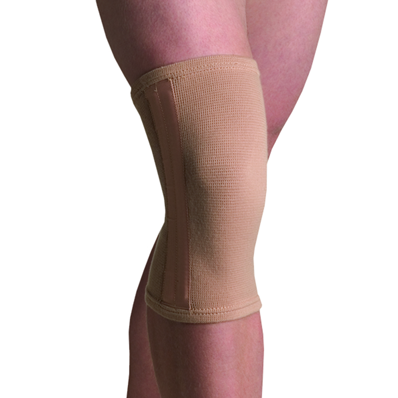 Thermoskin Compression Knee Stabilizer, Beige. $14.95  main product image