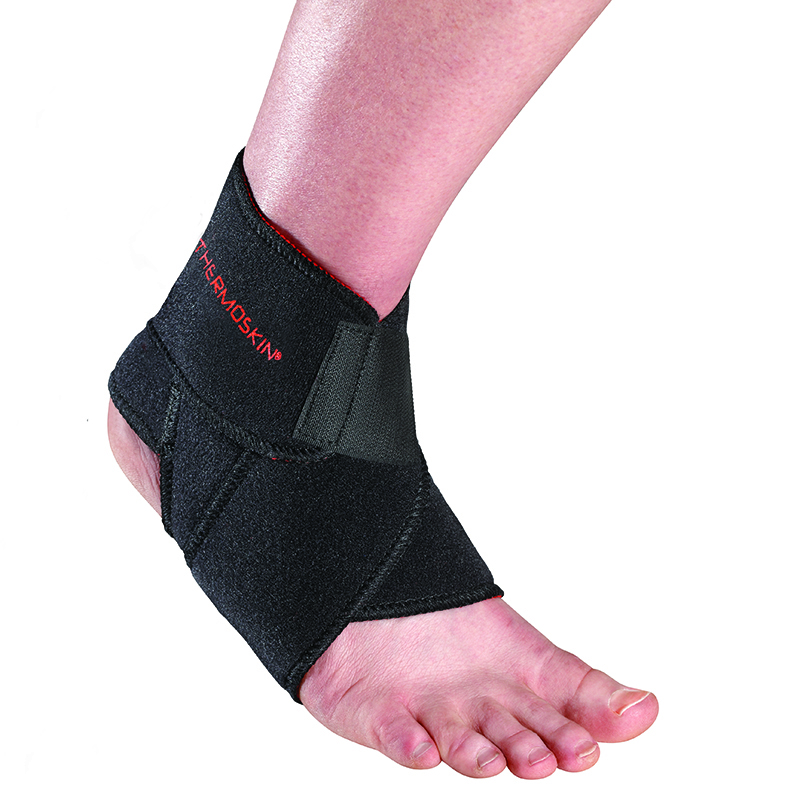 Thermoskin Sport Ankle Wrap, Black. $19.95  main product image