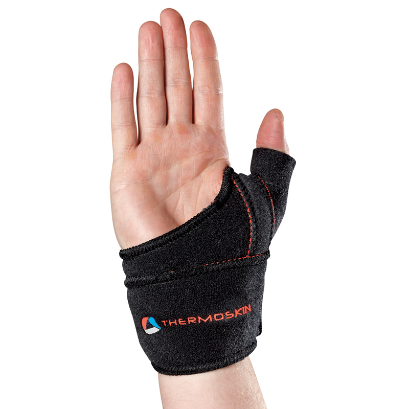 Thermoskin Sports Thumb Adjustable, Left,  Black, $29.95  main product image
