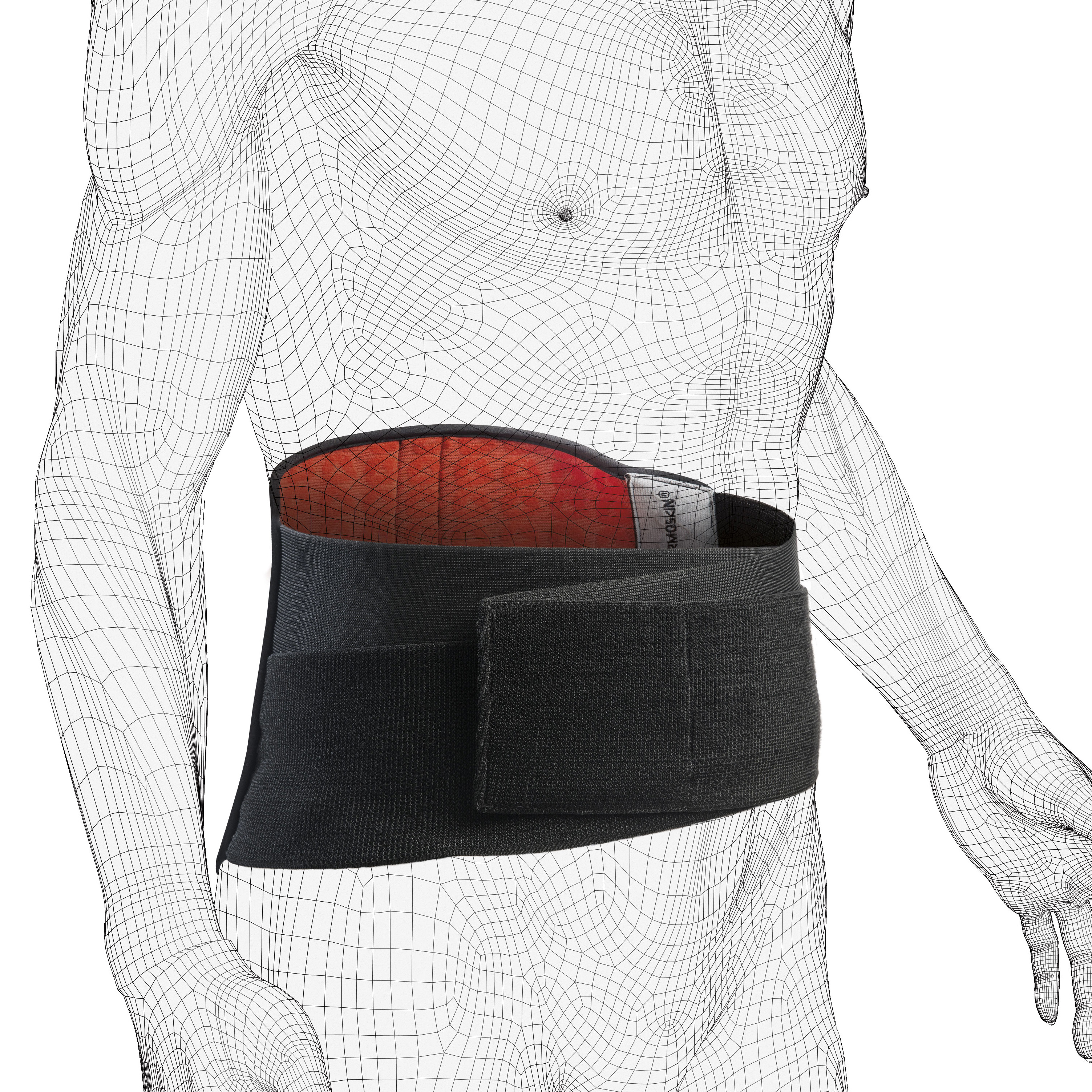 EXO Back Stabilizer, Black, One Size, $79.95 alternative product image 2