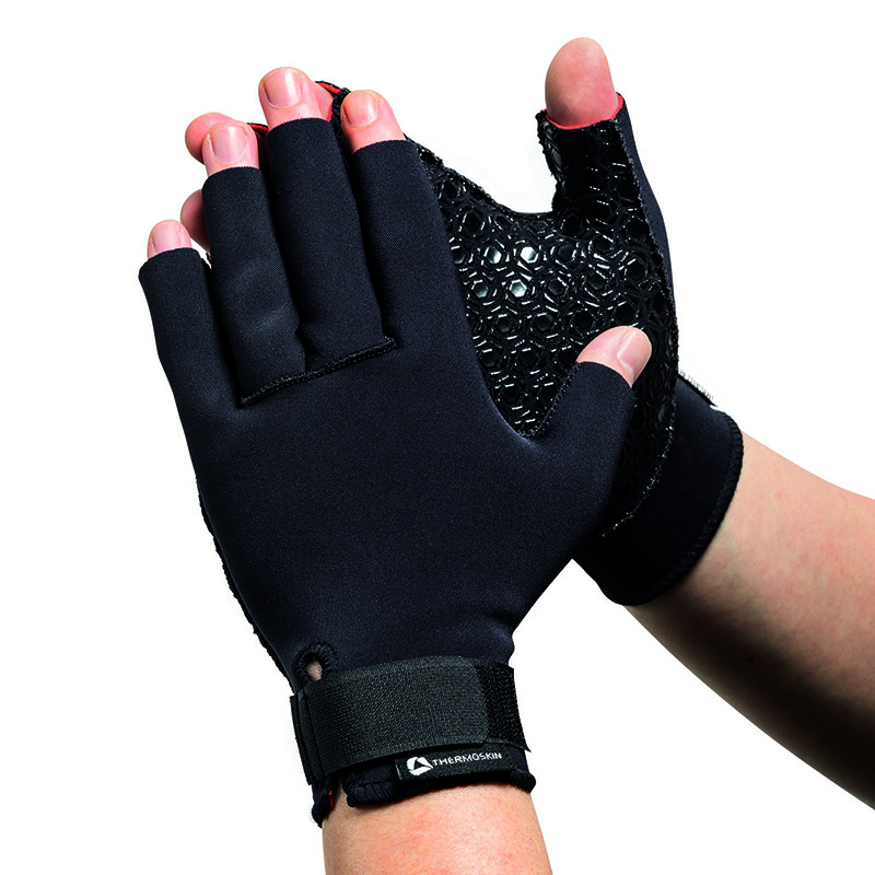 Thermoskin Arthritis Compression Gloves, Black, $39.95  main product image