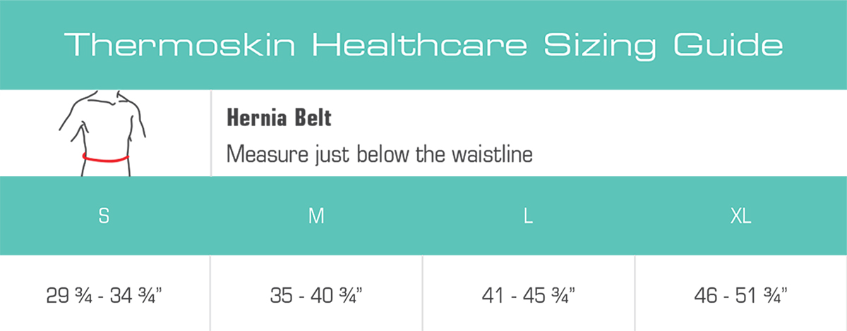 Thermoskin Hernia Belt, White, $39.95 alternative product image 5