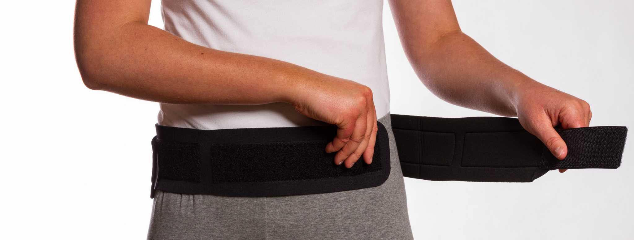 Sacroiliac Belt, Black, $49.95 alternative product image 3