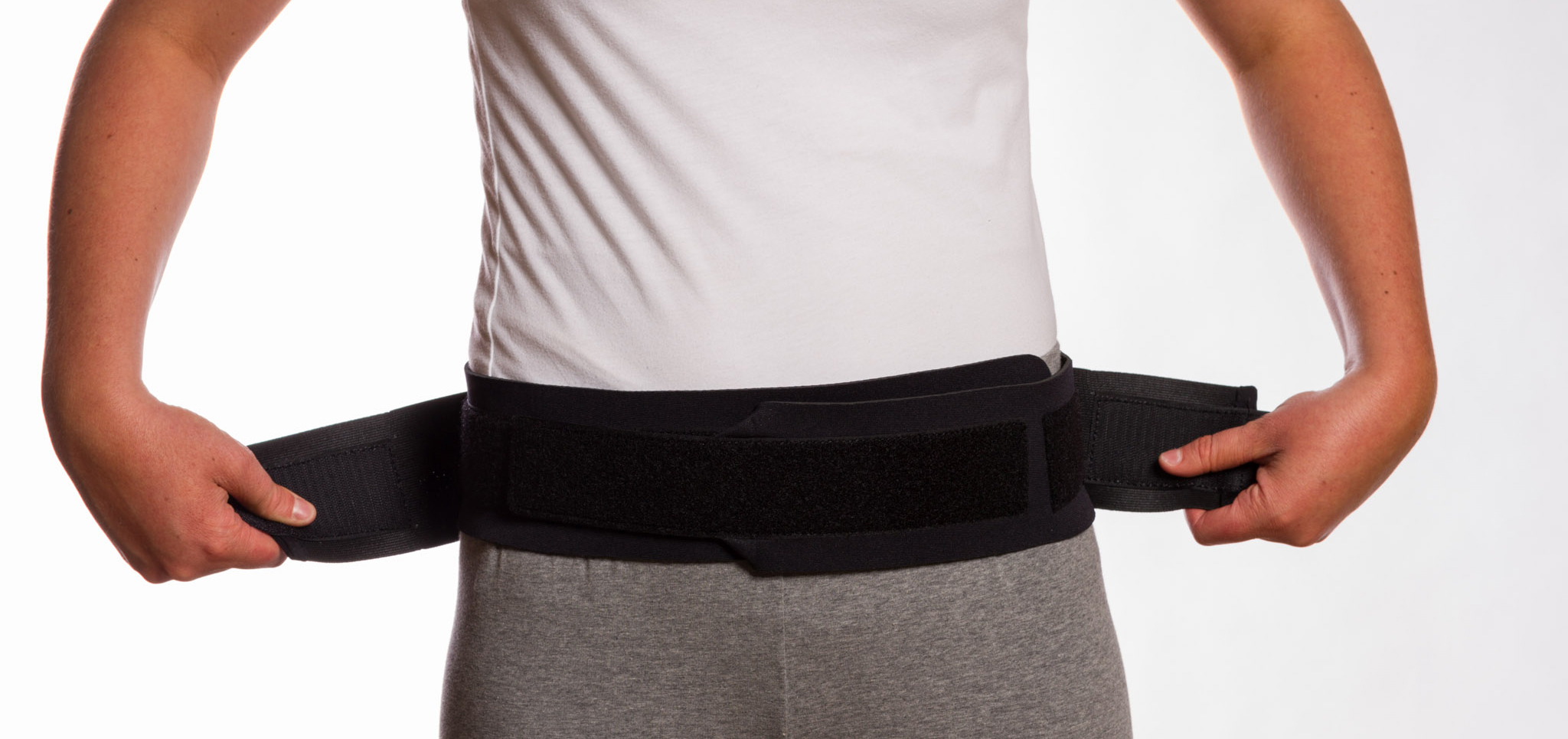 Sacroiliac Belt, Black, $49.95 alternative product image 4